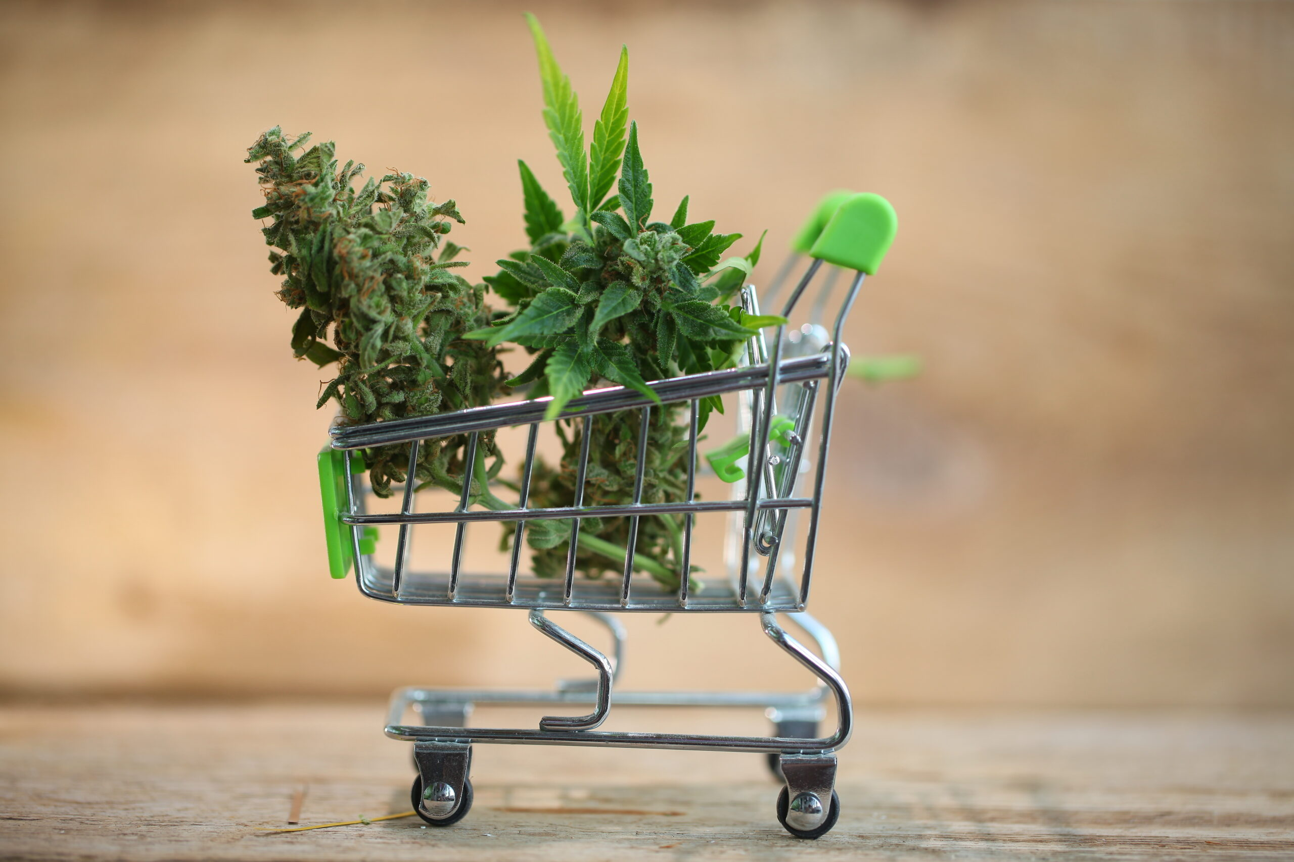 supermarket trolley marijuana medical cannabis